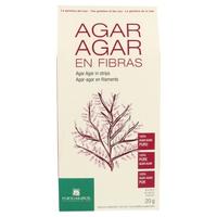 Alga Agar Agar en fibras