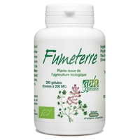 Fumitory organic flowering aerial part 200 mg