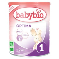 Babybio 1 Optima Organic Baby Milk - 0 to 6 Months