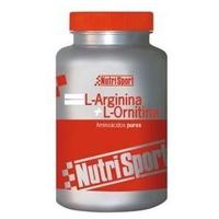L-Arginina L-Ornitina 500 mg/100 cápsulas de Nutrisport