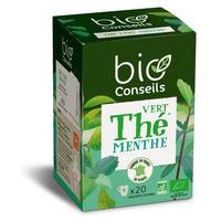 Zielona herbata - Organiczny napar miętowy