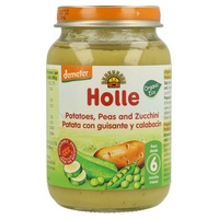Confezione di Patate, Piselli e Zucchine Bio