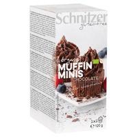 Mini muffins chocolate sin gluten