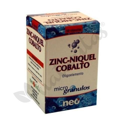 Zinc, Niquel y Cobalto 50 cápsulas de Neo Vital Health