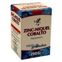 Zinc, Niquel y Cobalto