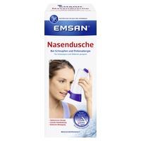 Emsan Nasendusche NEU + Nasenspülsalz
