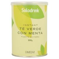 Solodrink Té Verde, Fibra, Menta Bote