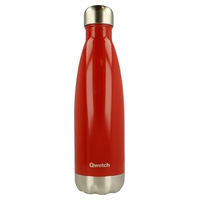Stainless Steel Isothermal Bottle - Bright red