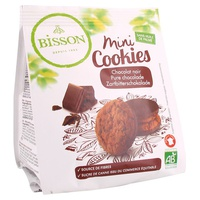 Mini Cookies de chocolate negro