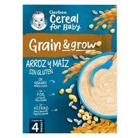 Gluten-Free Rice and Corn Porridge 4m +