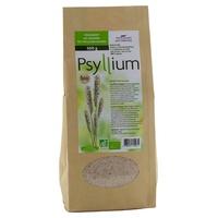 Organic blond psyllium seed coat