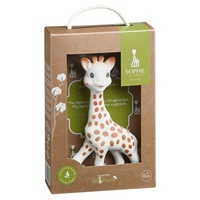 Sophie la girafe So'pure with her gift box
