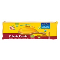 Ready-made polenta - cylindrical shape