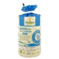 Galettes riz de Camargue sans sel 100% France