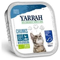 Comida para Gatos adultos con Trozos de Pescado y Spirulina Sin Cereales