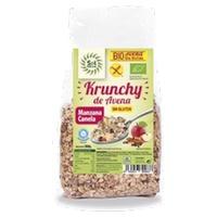 Gluten Free Krunchy Oatmeal Muesli with Apple and Cinnamon Bio