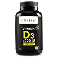 Vitamin D3 4000 IU 365 days