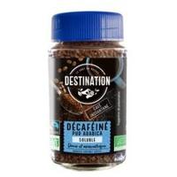 Café soluble 100% arábica liofilizado descafeinado bio