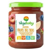 Baby jars Végébaby Apple Forest Fruits 6 months