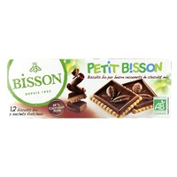 Galletas Petit Bisson de chocolate negro