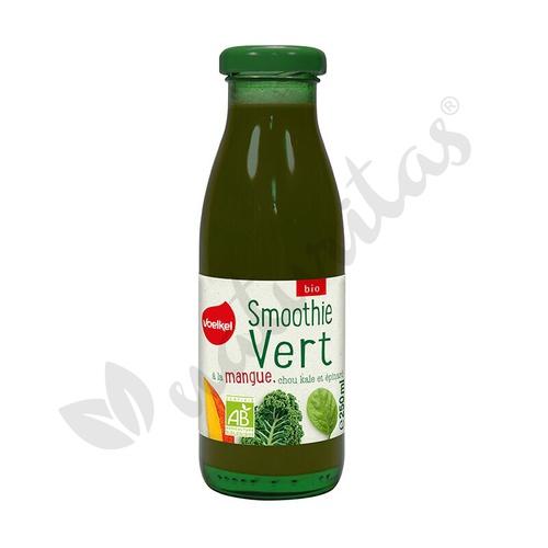 Smoothie verde de Mango, Kale y Espinacas Bio