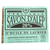 Alep jabón 20% aceite de laurel