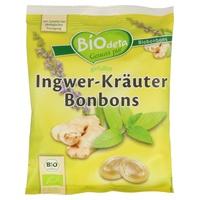 Caramelos Biodeta de Jengibre y Hierbas