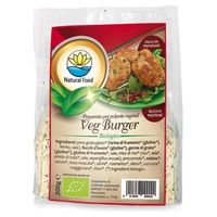 Veg burger - prepared for vegetable meatballs