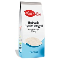 Harina de trigo espelta integral