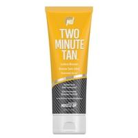 Two Minute Tan, Sunless Bronzer Instant Glow Dark Tanning Gel
