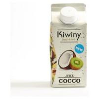 Zumo de kiwi y coco