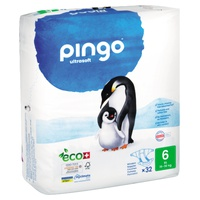Pingo Ecological Diapers Size 6 XL (15-30 Kg)