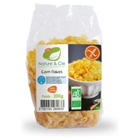 Gluten Free and Sugar Free Toasted Corn Flakes Bio