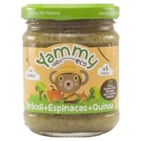 Jar of Broccoli, Spinach and Quinoa