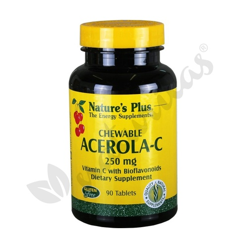 Acerola C 90 comprimidos de 250 mg de Nature's Plus