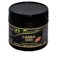 Carbo 2000, super activated granular vegetable charcoal