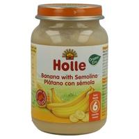 Potito de Plátano y Sémola de Trigo Bio 190 gr de Holle