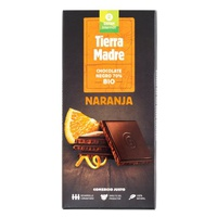 Tableta Chocolate Negro 70% Naranja Bio