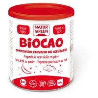 Biocao à teneur réduite en sucres biologiques