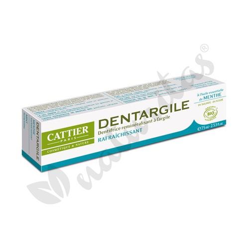 Dentífrico Dentargile Menta 75 ml de Cattier