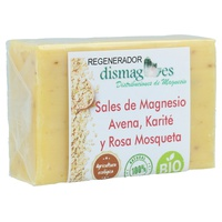 Soap with Magnesium Salts, Oats, Shea and Rosehip