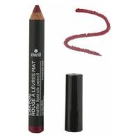Matte lipstick pencil Wild strawberry Certified organic