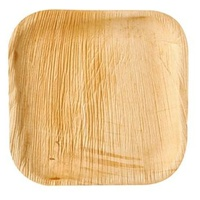 Square Palm Leaf Plate 20x20 cm