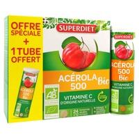 Acérola 500 Bio +1 tube offert