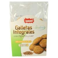 Galletas Integrales Sésamo y Germen de Trígo - Sanalínea