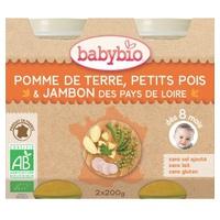 Małe słoiki z warzywami i szynką (od 8 miesięcy)