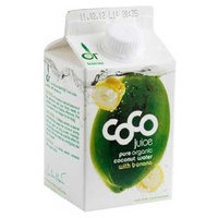 Agua Coco Drink Banana Bio