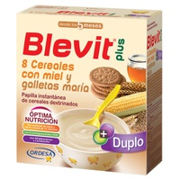 Blevit Plus Cerales with honey and Maria cookies