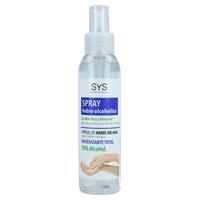 Spray de limpeza de mãos com aloe vera
