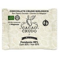 Tablette de chocolat noir 80% biologique